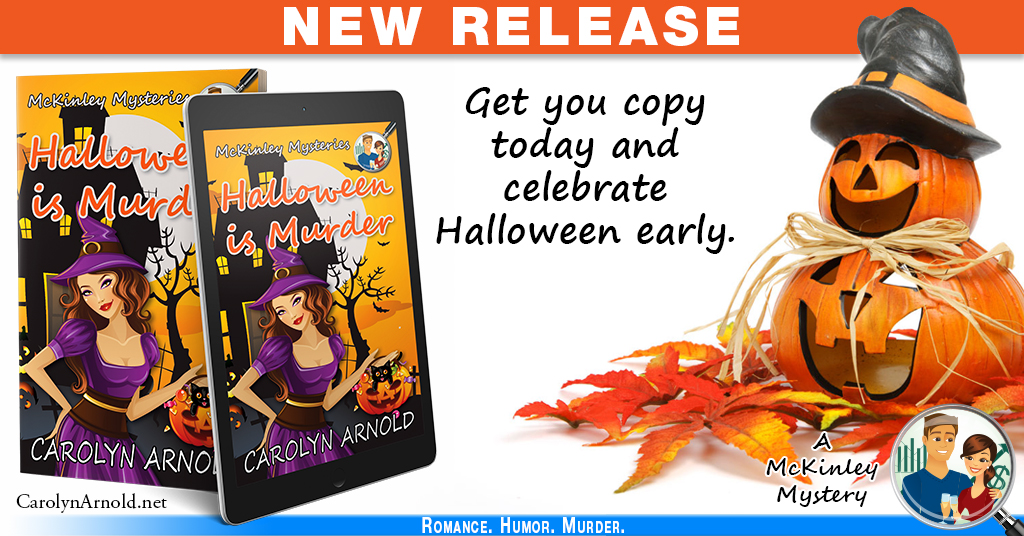 Announcement: #NewRelease HALLOWEEN IS MURDER #Cozy #Mystery