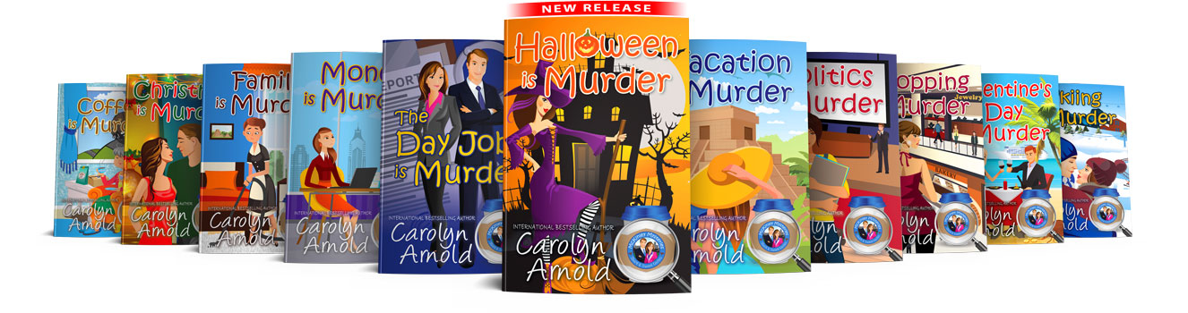 McKinley Mysteries first 10 book covers