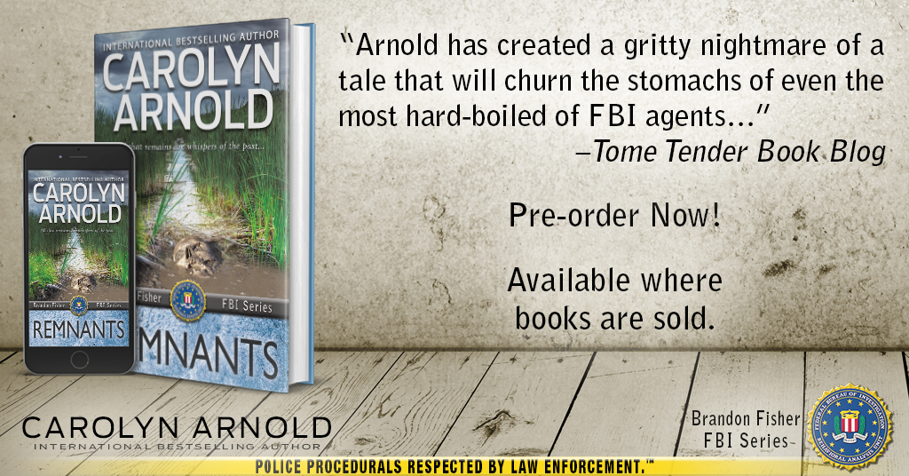 The body parts are piling up and so is the mystery – An #excerpt of REMNANTS