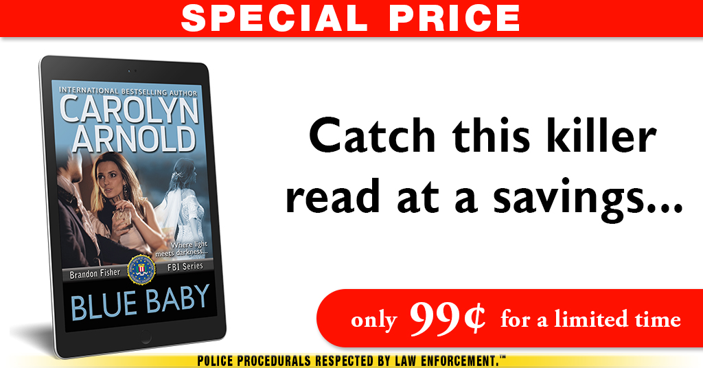 FBI thriller lovers won't want to miss this deal! #Bestselling BLUE BABY only #99cents!