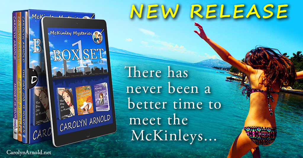 Release Day – Get your cozy on with McKinley Mysteries Box Set 1