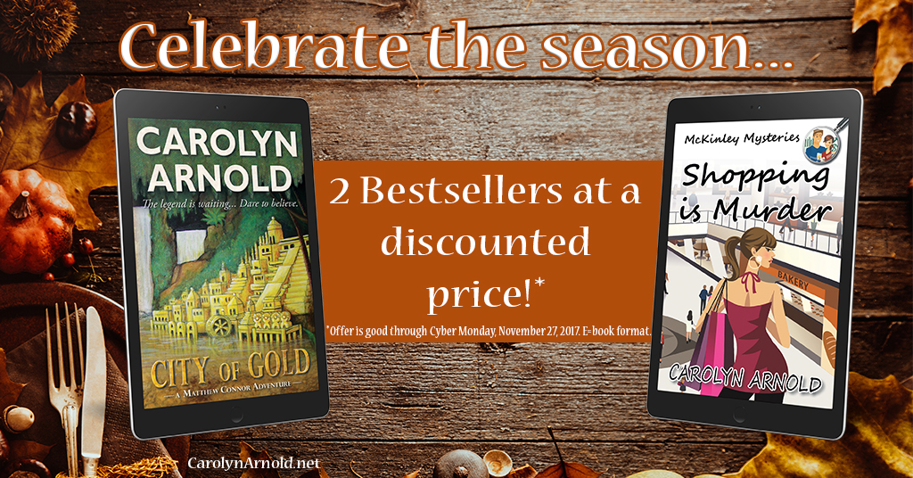 A Festive Special: 6 days to save on 2 bestsellers
