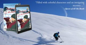 Skiing Can be a Dangerous Venture by Carolyn Arnold @Carolyn_Arnold book feature