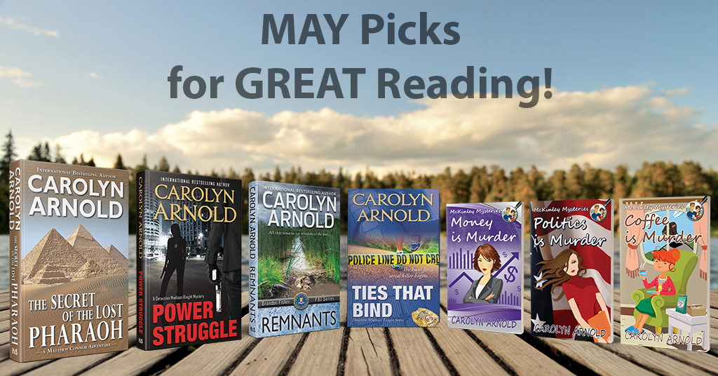 MAY Picks for GREAT #Reading!