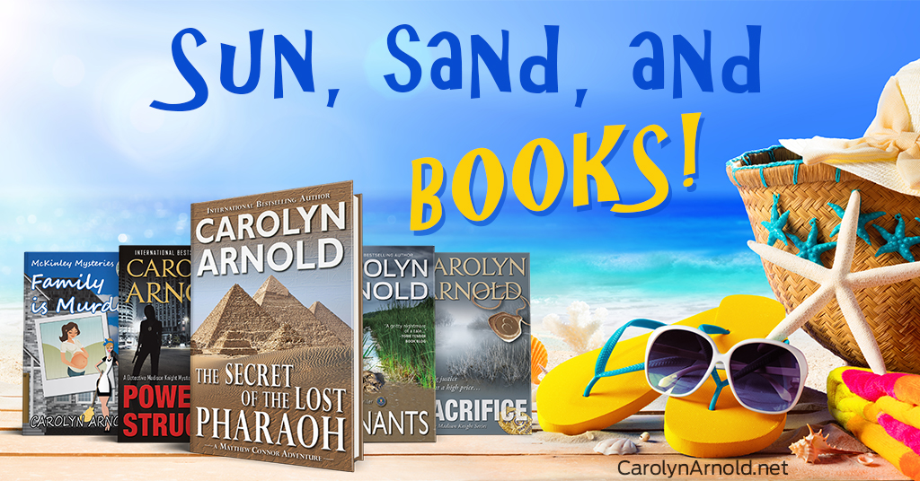 Sun, sand, and books!