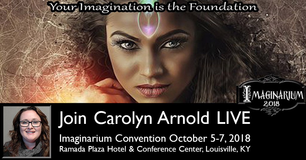 Join Carolyn Arnold in Kentucky at Imaginarium Oct 5-7th @ImaginariumCon