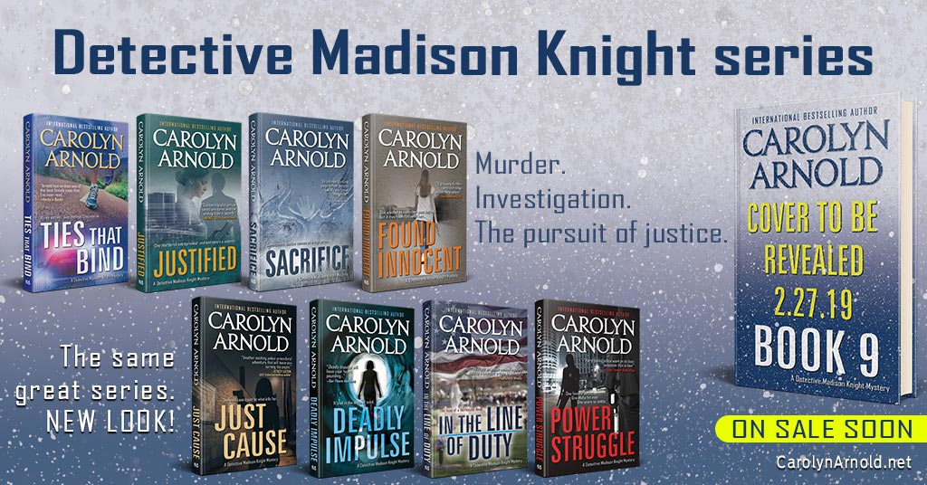 The Detective Madison Knight Series Has a New Look