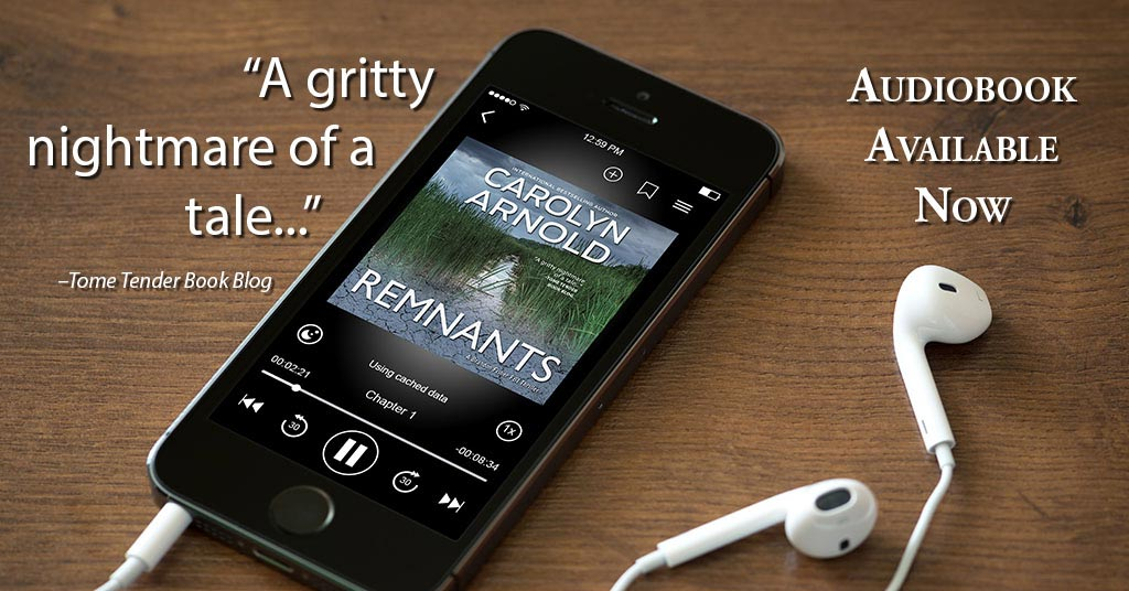 #Audiobook Release Notice: A Serial-Killer Thriller for Your Listening Pleasure