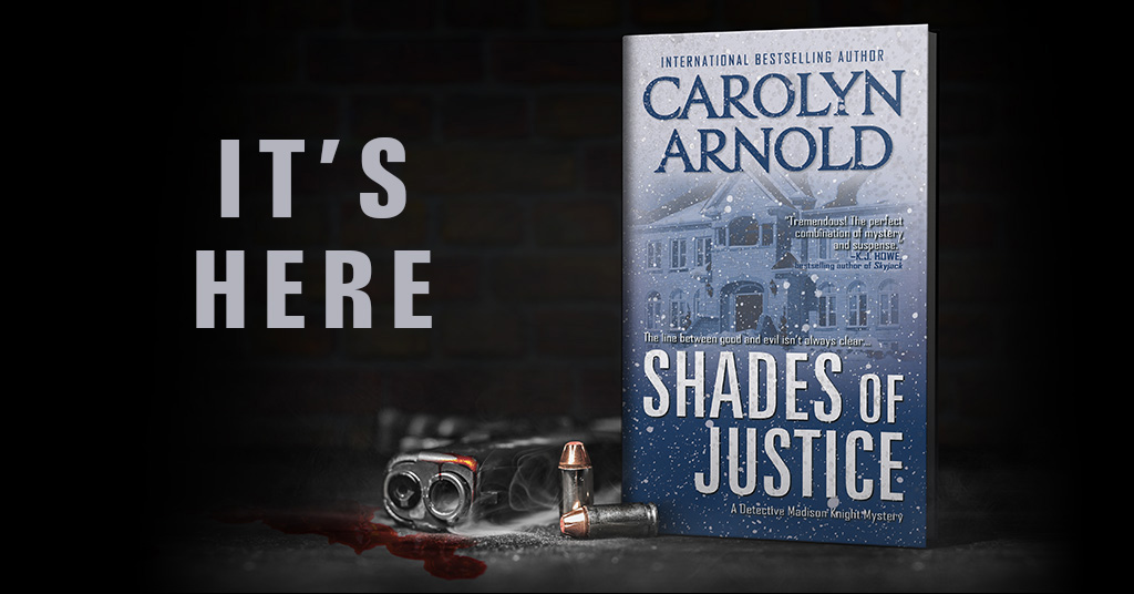 New Release: Shades of Justice (Detective Madison Knight)