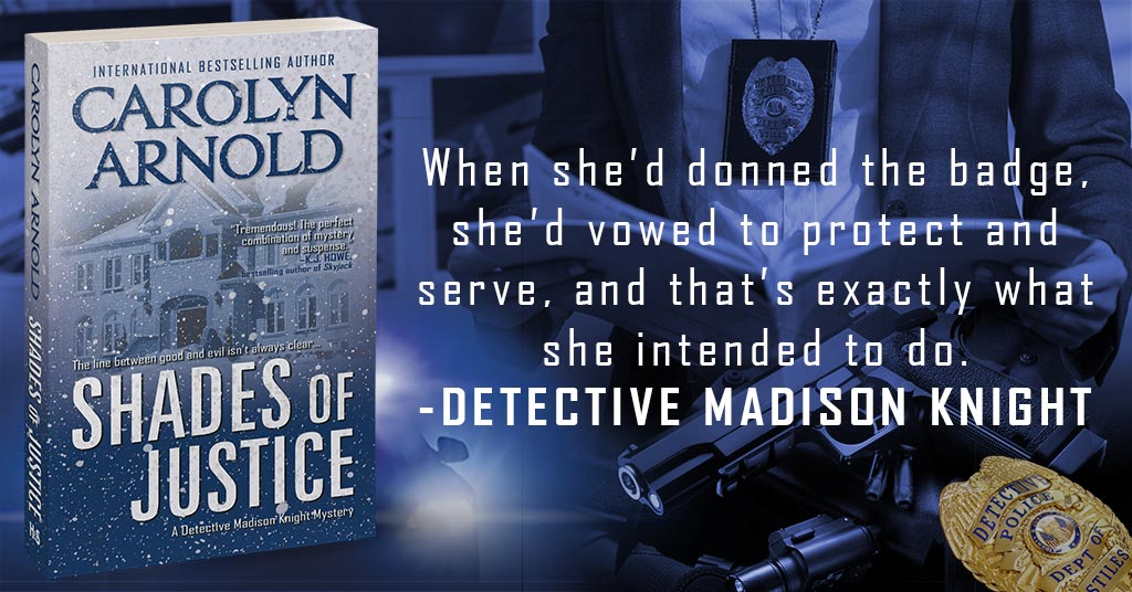 Detective Madison Knight's about to ferret out corrupt cops. Buckle up for the ride! #bookexcerpt