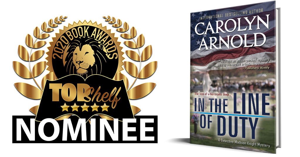 TopShelf Magazine has Nominated IN THE LINE OF DUTY! #bestseller #mystery
