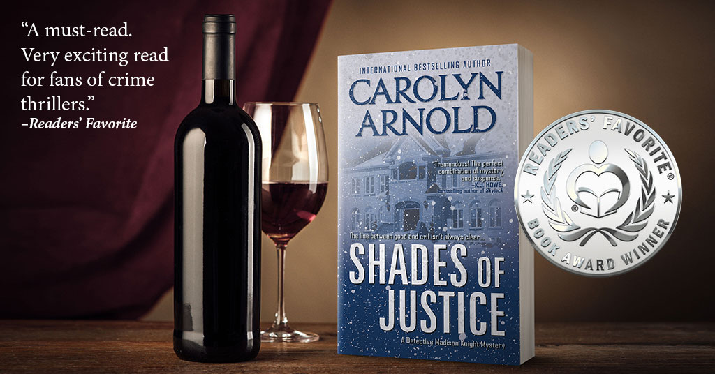 Flakes of Silver Rain Down  on SHADES OF JUSTICE! #crimenovel