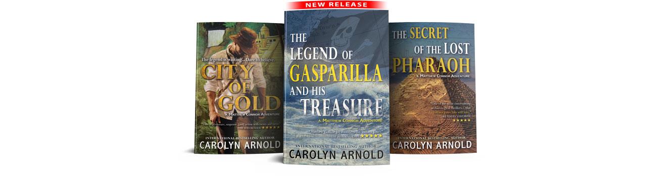 Mathew Connor Adventure Series first 3 books