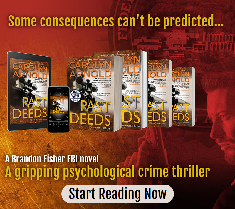 New Release Past Deeds book 8 in the Brandon Fisher FBI series