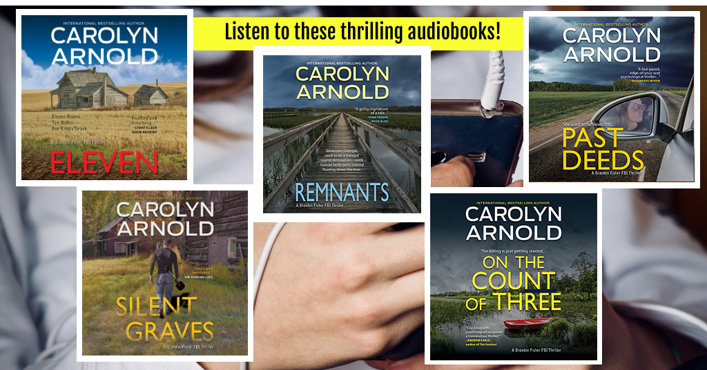 Give Your Ears a Thrill! Catch FBI Agent Brandon Fisher in Audiobook
