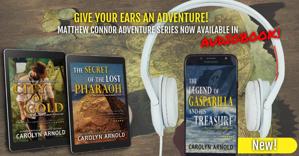 Give Your Ears an Adventure – Matthew Connor Adventures Series Now in #Audiobook!
