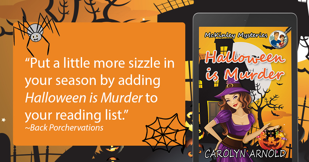 An #Interview with the Author of #Halloween Is Murder #cozymystery