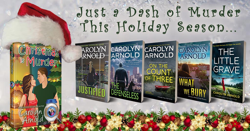Just a Dash of Murder… Six #MustReads This December