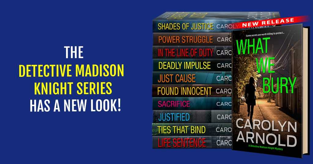 The Detective Madison Knight Series Receives New Covers